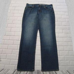 Gap Curvy Fit Straight Fit Jeans Size 14 / 32 L